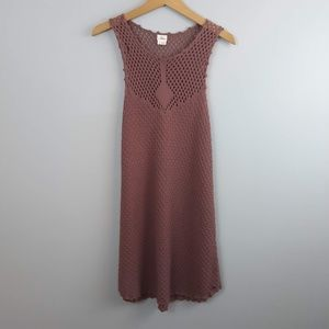 O'Neill Crocheted Dress Cover-up Size Small